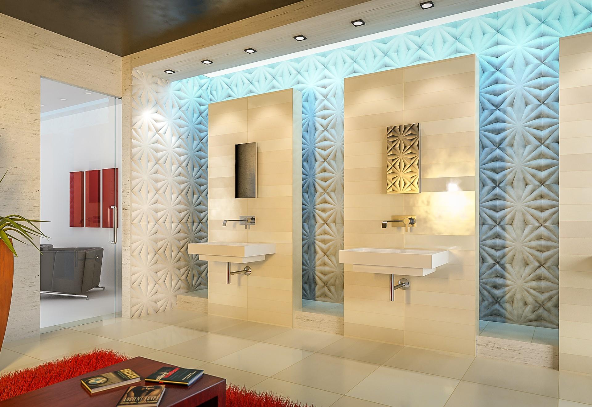 3D work limestone