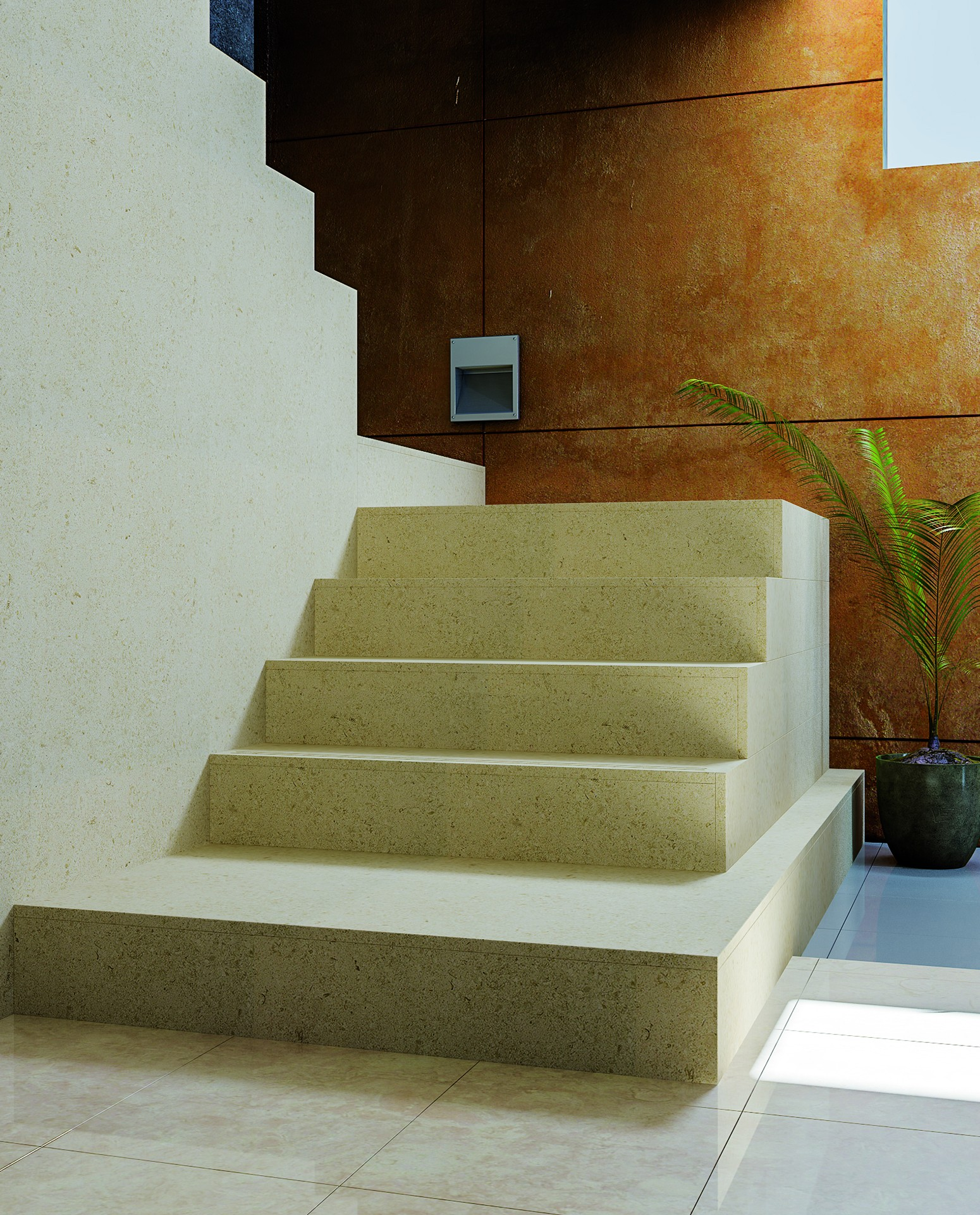 Stairs Limestone